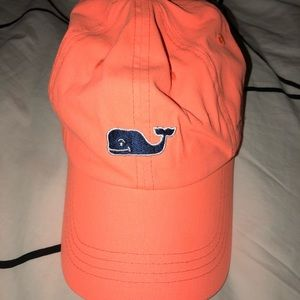 Orange Vineyard Vines Baseball Hat
